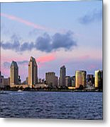 Sunset San Diego Bay Metal Print