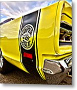 Super Close Super Bee  Metal Print