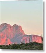 Superstition Mountains Metal Print