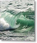 Surf Zone At The Barents Sea Coast Metal Print