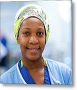 Surgical Staff Metal Print