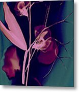 Sweetpea In The Pink Metal Print