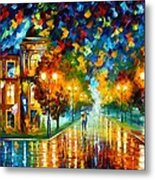 Swimming Sky Metal Print by Leonid Afremov
