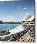 Sydney Harbour In Australia By Day Metal Print