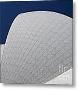 Sydney Opera House Roof Tiles Metal Print