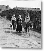 Syria Druze Children, 1938 Metal Print