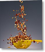 1 Tablespoon Red Pepper Flakes Metal Print