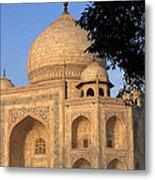 Taj Mahal In Evening Light Metal Print