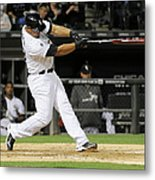 Tampa Bay Rays V Chicago White Sox Metal Print