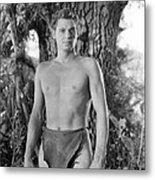 Tarzan The Ape Man, Johnny Weissmuller Metal Print