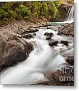 Tawhai Falls In Tongariro Np New Zealand Metal Print