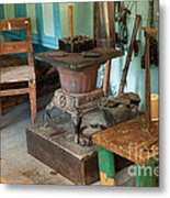 Taxidermy At The Holzwarth Historic Site Metal Print