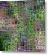 Technology Abstract Metal Print