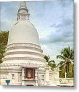 temple complex at the tropical island Sri Lanka Metal Print