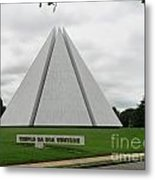 Temple Of Good Will Metal Print