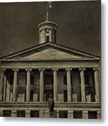 Tennessee Capitol Building Metal Print by Dan Sproul