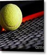 Tennis Equipment Metal Print by Michal Bednarek
