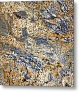 Texture Of Marble Background Closeup  Metal Print
