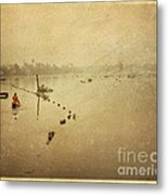 Thai River Life Metal Print
