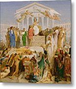 The Age Of Augustus The Birth Of Christ Metal Print