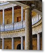 The Alhambra Palace Of Carlos V Metal Print by Guido Montanes Castillo