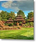 The Alumni Memorial Grove Metal Print