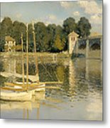 The Argenteuil Bridge Metal Print