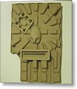 The Aztec Metal Print
