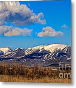 The Butte Metal Print