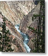 The Canyon Metal Print
