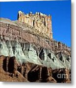 The Castle Capitol Reef National Park Utah Metal Print
