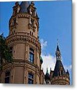 The Castle Of Schwerin Metal Print