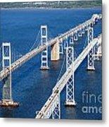The Chesapeake Bay Bridge Metal Print