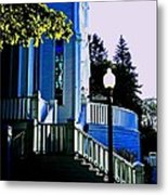 The Church Steps Metal Print