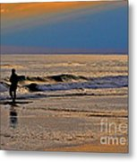 The Decision Metal Print