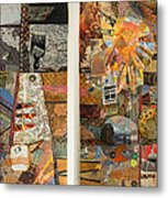 The Detritus Of Working Class Lives Metal Print by Martha Ressler