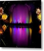 The Electric Fountain Metal Print