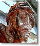 The Face Of Christ Metal Print
