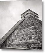 The Famous Kulkulcan Pyramid At Chichen Itza Metal Print