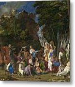 The Feast Of The Gods Metal Print