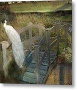 The Foot Bridge Metal Print