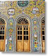 The Golestan Palace In Tehran Iran Metal Print