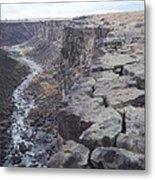 The Gorge Metal Print