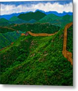 The Great Wall Of China Metal Print