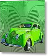 The Green Machine Metal Print