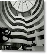 The Guggenheim Museum In New York City Metal Print
