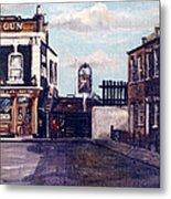 The Gun Public House Isle Of Dogs London Metal Print