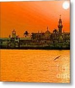 The Haji Ali Dargah Metal Print