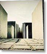 The Holocaust Memorial Berlin Germany Metal Print