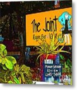 The Joint Metal Print